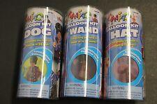 8 HAT 24 DOG 12 WAND BALLOON MAKING KIT MAKES 12 WANDS AIR PUMP INSTRUCTIONS