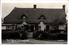 Great Canfield near Dunmow & Bishops Stortford. Post Office # 116450.