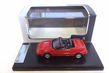 Volvo 480 Cabriolet 1990 - Red - PREMIUM X 1:43 DIECAST MODEL CAR PRD447