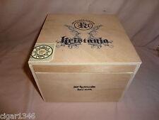 KRISTOFF KRISTIANA TORO LARGE WOOD CIGAR BOX
