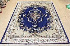 Traditional Silk Large Living Room Carpet/Rugs Machine Washable Mat Soft Runner