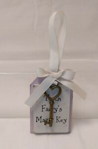 """Pretty Perfect Presents by Langs Tooth Fairy's Key Mini Wall Hanging Plaque 3x2"""""""