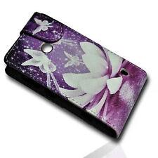 Design 1 Flip Tasche Cover Case Handy Hülle Etui  für Nokia Lumia 520