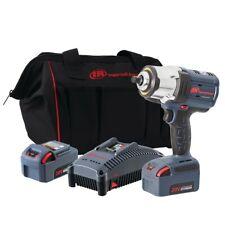 Ingersoll Rand W7152 K22 12 Iqv20 High Torque Impact Wrench 2 Battery Kit