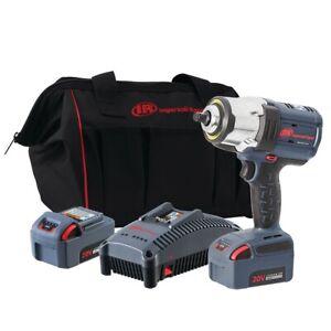 "Ingersoll-Rand W7152-K22 1/2"" IQV20 High Torque Impact Wrench - 2 Battery Kit"
