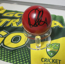 Ricky Ponting  (Australia) signed Red Cricket Ball + COA + Photo proof signing
