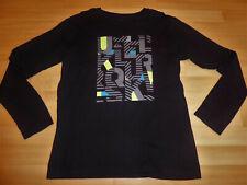 Tee-shirt manches longues noir Quiksilver garçon 16 ans en Parfait état