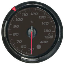 60mm Oil temp gauge with sender 50-150℃ Racing instrument 64 colors of backlight