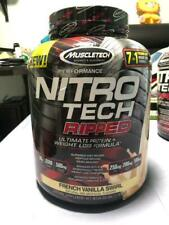 Muscletech Nitro-Tech Ripped  Protein & Weight Loss Formula 4 LBS  Vanilla