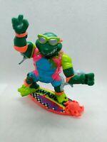 1990 Surfer Michaelangelo Teenage Mutant Ninja Turtles TMNT Vintage Figure