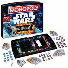 Star Wars Monopoly Edizione Open /& Play Case Gioco Tavolo