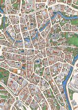 Norwich Street Map  1000 Piece Jigsaw Puzzle   690mm x 480mm (jg)