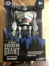 Iron Giant figure- Large New Walks Lights Sound Walmart Excl Ships Today 2020