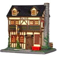 Lemax Argyle Griffin Pub Caddington Christmas Village Collection NEW NIB