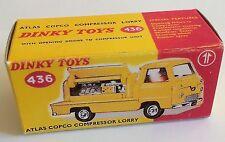 Dinky 436 Atlas Copco Compressor Lorry Empty Repro Box Only