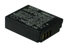 3.7V battery for Panasonic Lumix DMC-TZ50S, Lumix DMC-TZ1EB-K, CGA-S007E, Lumix