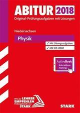 Abiturprüfung Niedersachsen 2018 - Physik GA/EA (2017, Set mit diversen Artikeln)