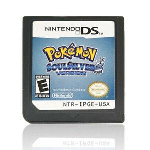 SoulSilver Version Nintendo DS 2010 Video Game Cartridge Plastic Case