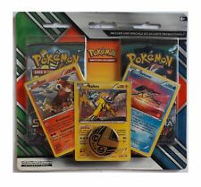 Pokemon TCG Sun And Moon Blister 2 Packs + 3 Holo Cards Raikou Entei Suicune