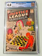 Justice League Of America #1 Cgc 4.0 Origin & 1St Appearance Of Despero 1960 Dc.