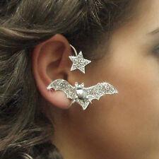 JoliKo Ohrklemme Ear cuff Dracula Van Helsing Fledermaus Halloween Stern RECHTS