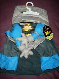 Cute batman / super hero costume for a small dog NWT