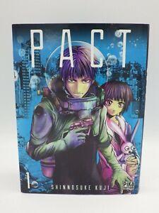 Livre manga PACT vol  De Shinnosuke Kuji Pika édition VF