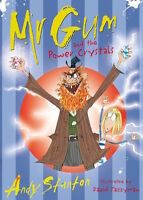 ANDY STANTON ___ MR GUM AND THE POWER CRYSTALS ___ BRAND NEW __ FREEPOST UK