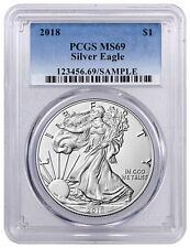 2018 American Silver Eagle PCGS MS69 SKU51250