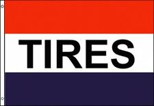 3X5 TIRES FLAG BUSINESS ADVERTISING SIGN BANNER OUTDOOR CAR REPAIR MECHANIC NEW