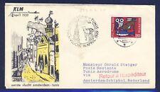45550) KLM FF Amsterdam - Tunis 16.4.59, SoU ab Schweiz