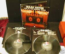 ISAAC HAYES Live Sahara Tahoe 2 LP DIE CUT - SOUTH PARK ORIG  DEEP GROOVE SOUL