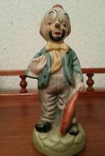 Handpainted Porcelain Clown Figurine