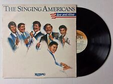 1984 The Singing Americans Live and Alive vinyl Lp Riversong Zlp-8402 Nm