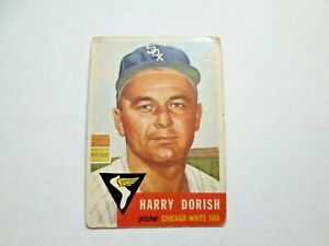 1953 Topps Harry Dorish White Sox