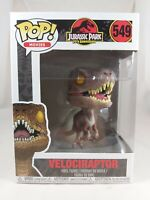 Movies Funko Pop - Velociraptor (Yellow Eyes) - Jurassic Park - No. 549