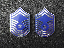(A29-014) US Rangabzeichen Metall Air Force Senior Master Sergeant