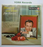 JIM REEVES - Moonlight & Roses - Excellent Con LP Record RCA Victor RD-7639