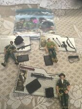 Gi Joe-3.75' TOMMY ARASHIKAGE, Lonzo R. Wilkinson & Classified Agent W/ Cards