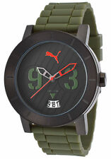 NEW  Puma Men's MILITARY STYLE PU103571005 Stainless Steel Black/ Green Watch