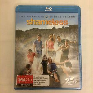 Shameless: Season 2 / Second Season | 2-Disc Blu-Ray Set | Brand New & Sealed