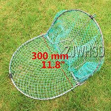 "Heavy Duty 300mm ( 11.8"" ) Sparrow Starling Bird Net Humane Live Trap Hunting"