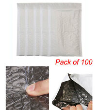 100pcs Bubble Mail Plastic Protect Padded Envelope Shipping Poly Bag 6 x 9""