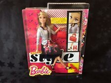 Barbie Fashionistas Glam Luxe Style 100+ Poses Doll Flats To Heels, New In Box