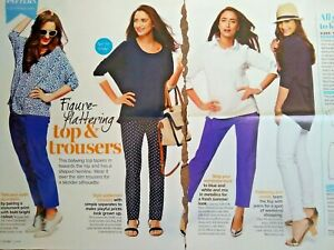 June 2014 Prima Batwing Top & Trousers Sewing Pattern Size 10-20 UNCUT