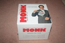 Monk: The Obsessive Compulsive Collection - Season 1-4 DVD *Brand New Sealed*
