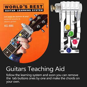 Classical Chord Buddy Guitar Learning System Teach Aid Chordbuddy For Beginner