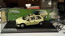 "Opel Corsa B mit Faltdach (""Swing"") 1993-2000, gelb, -1/43-/BOX-Opel Collection-"