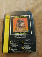 Stevie Wonder Hotter Than July Rare T8 373 KT Tamla Records Lear Jet 8 Track