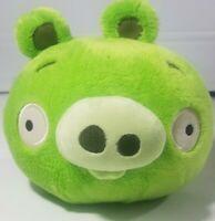 "Angry Birds Plush Green Piggie Stuffed Animal Toy Bad Piggies 9"" Commonwealth"